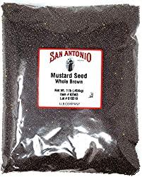 Brown Mustard Seeds 1lb
