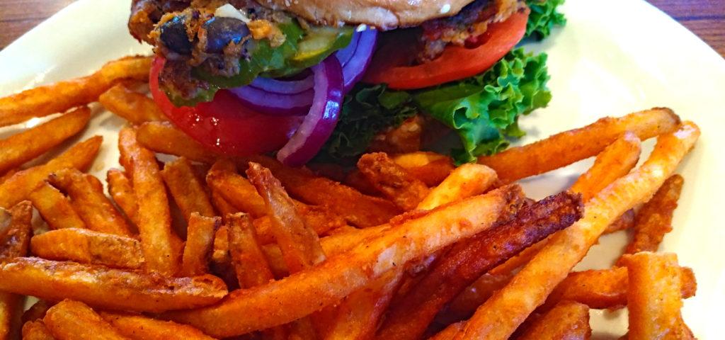 Meatless Burger & Fries